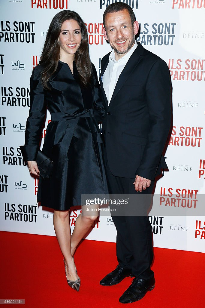 <a gi-track='captionPersonalityLinkClicked' href=/galleries/search?phrase=Dany+Boon&family=editorial&specificpeople=612915 ng-click='$event.stopPropagation()'>Dany Boon</a> (R) and his wife Yael Boon attend 'Ils sont Partout' Paris Premiere at Gaumont Capucines on May 31, 2016 in Paris, France.
