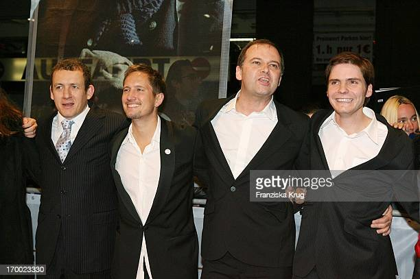 Dany Boon Benno Fürmann Christian Carion and Daniel Brühl at The Premiere Of 'Merry Christmas' In The Comic Opera in Berlin 231105