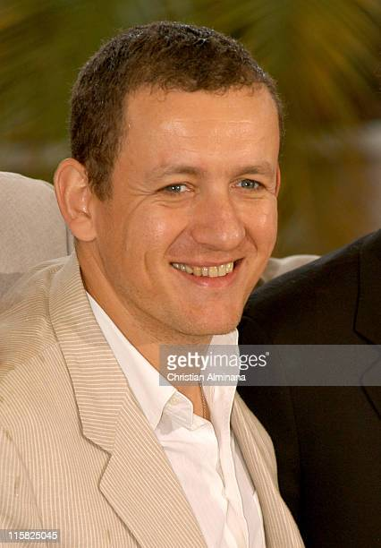 Dany Boon during 2005 Cannes Film Festival 'Joyeux Noël' Photocall at Palais de Festivals in Cannes France