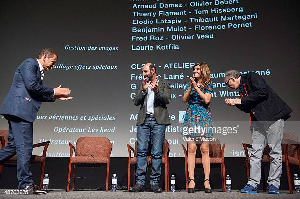 Dany Boon Kad Merad Alice Pol and Jerry Zucker attend the 18th Annual City Of Lights City Of Angels Film Festival at Directors Guild Of America on...