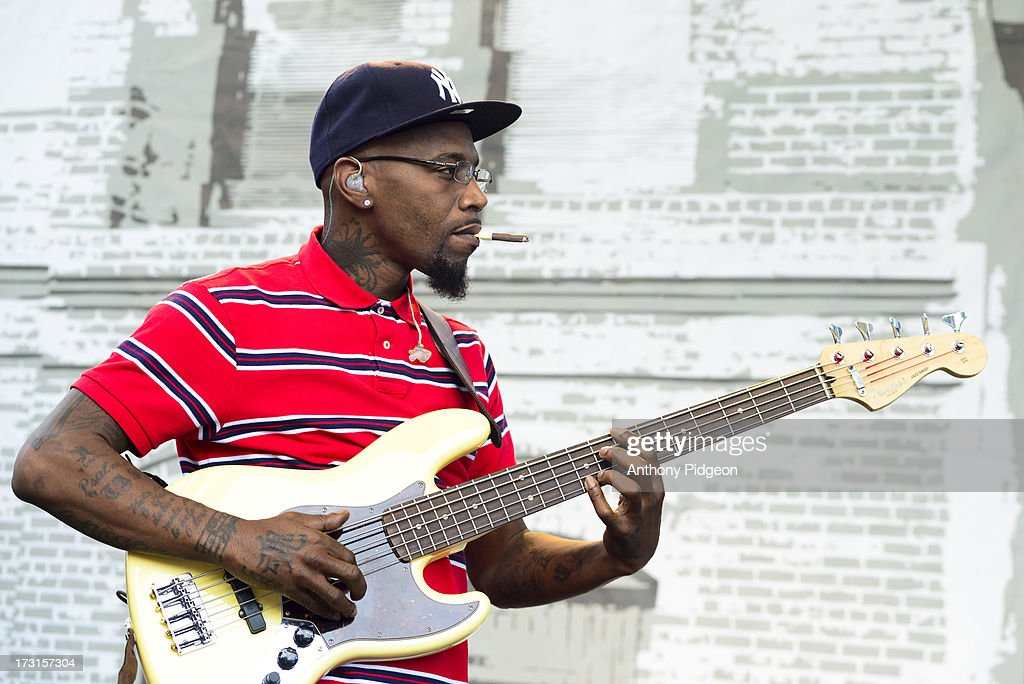 Danyel Morgan perform on stage on Day 4 of Waterfront Blues Festival at Tom McCall Waterfront Park on July 7, 2013 in Portland, Oregon.