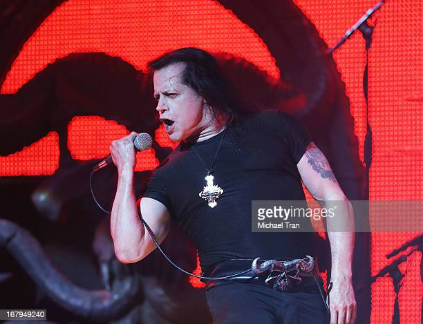 Danzig perform at the 5th Annual Revolver Golden Gods Award Show held at Club Nokia on May 2 2013 in Los Angeles California