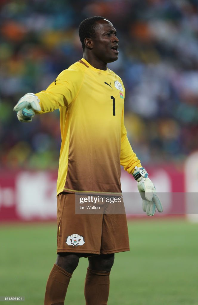 Daouda Diakite of Burkina Faso during the 2013 Africa Cup of Nations Final match between Nigeria and Burkina Faso at FNB Stadium on February 10, 2013 in Johannesburg, South Africa.