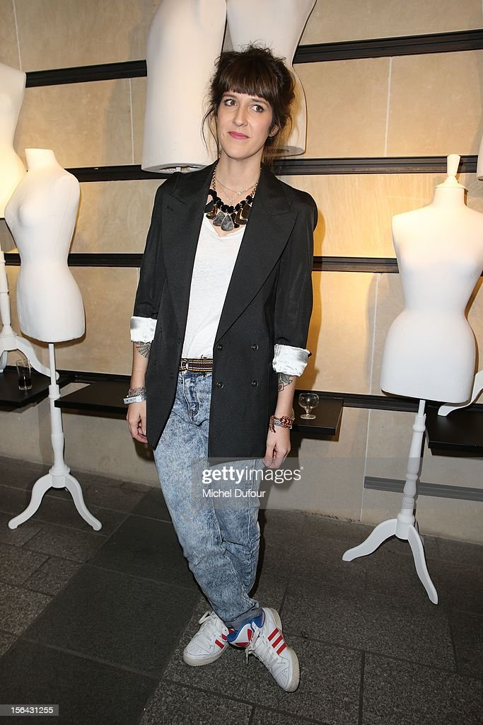 Daphné Bürki attends the Maison Martin Margiela With H&M Collection Launch at H&M Champs Elysees on November 14, 2012 in Paris, France.