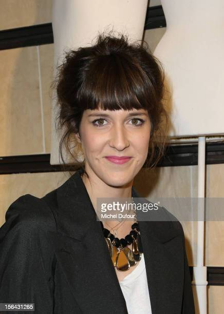 Daphné Bürki attends the Maison Martin Margiela With HM Collection Launch at HM Champs Elysees on November 14 2012 in Paris France