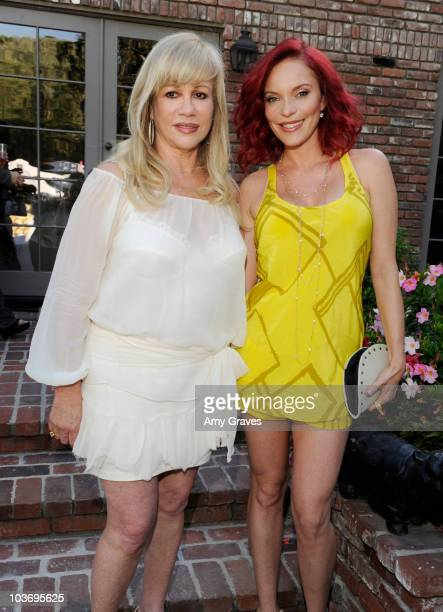 Daphna Ziman and Carmit Bachar attend the BellaStyle Garden Event on August 27 2010 in Los Angeles California