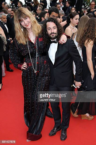 Daphne Burki and Gunter Love attend 'The BFG ' premiere during the 69th annual Cannes Film Festival at the Palais des Festivals on May 14 2016 in...