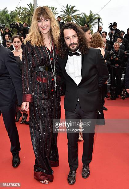 Daphne Burki and Gunther Love attend 'The BFG ' premiere during the 69th annual Cannes Film Festival at the Palais des Festivals on May 14 2016 in...