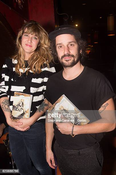 Daphne Burki and Gunther Love attend the Valerie Damidot Book Signing for 'Le Coeur Sur La Main Le Doigt Sur La Gachette' at Buddha Bar on November 2...