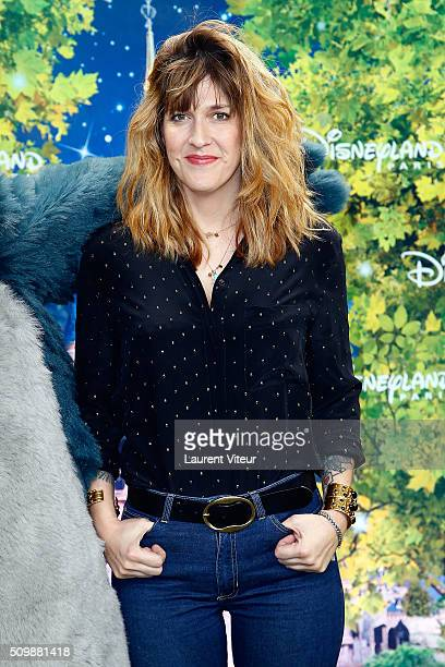 Daphne Burki attends 'La Foret de L'Enchantement' Musical Show Premiere at Disneyland Paris on February 12 2016 in Paris France