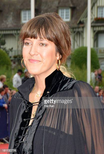 Daphne Burki attends 'The Bourne Legacy' Premiere 38th Deauville American Film Festival at CID on September 01 2012 in Deauville France