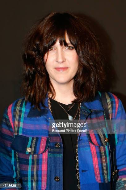 Daphne Burki attends the ETAM show as part of the Paris Fashion Week Womenswear Fall/Winter 20142015 on February 25 2014 in Paris France