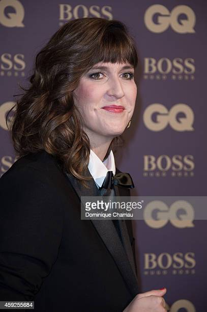 Daphne Burki attends the GQ Men Of The Year Awards 2014 Photocall In Paris at Musee d'Orsay on November 19 2014 in Paris France