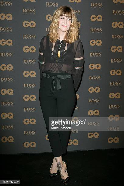 Daphne Burki attends the 'GQ Men Of The Year Awards 2015' as part of Paris Fashion Week on January 25 2016 in Paris France