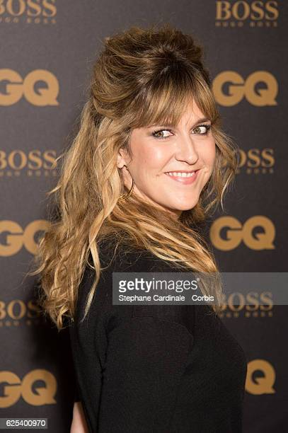 Daphne Burki attends the GQ Men of the Year Awards 2016 Photocall at Musee d'Orsay on November 23 2016 in Paris France