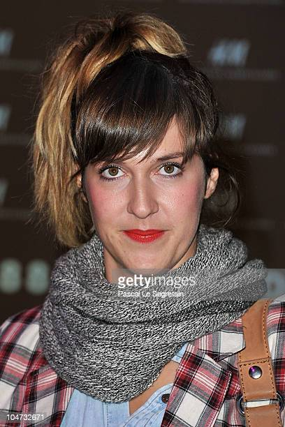 Daphne Burki attends the HM Champs Elysees Designed by Jean Nouvel flagship opening during Paris Fashion Week Spring/ Summer 2011 on October 4 2010...