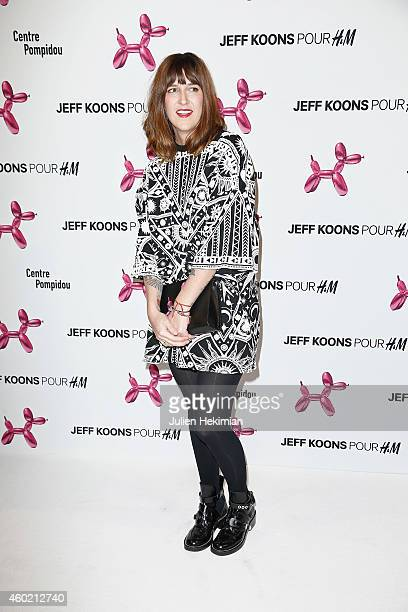 Daphne Burki attends the Jeff Koons For HM Handbag Presentation a Cocktail Event at Centre Pompidou on December 9 2014 in Paris France