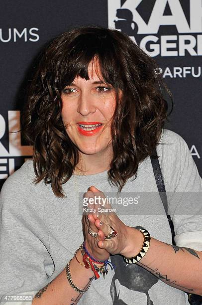 Daphne Burki attends the Karl Lagerfeld new perfume launch at Palais Brongniart on March 11 2014 in Paris France