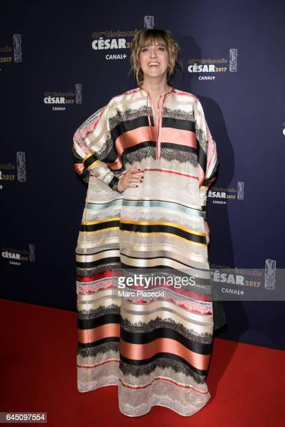 Daphne Burki attends the the Cesar Film Awards 2017 ceremony at Salle Pleyel on February 24 2017 in Paris France