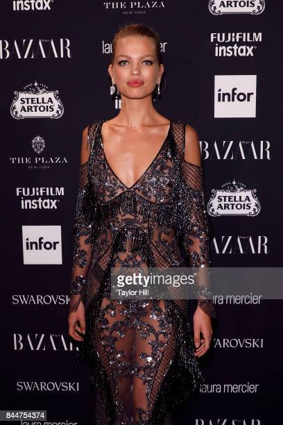 Daphne Groeneveld attends the 2017 Harper ICONS party at The Plaza Hotel on September 8 2017 in New York City