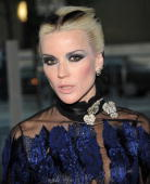 Daphne Guinness attends the 2009 CFDA Fashion Awards at Alice Tully Hall Lincoln Center on June 15 2009 in New York City