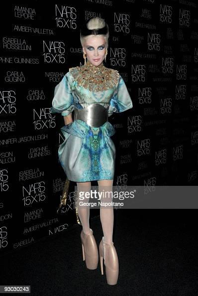 Daphne Guinness attends The Launch Of 15X15 A Project To Celebrate 15 Years of NARS at Industria Superstudio on November 12 2009 in New York City