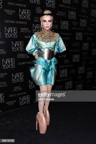 Daphne Guinness attends the launch of NARS 15X15 a project to celebrate 15 years of NARS at Industria Superstudio on November 12 2009 in New York City