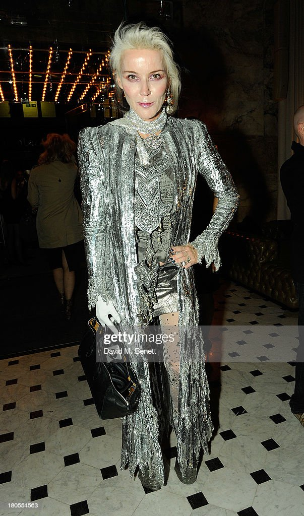Daphne Guinness attends The London Edition opening celebrating the September issue of W Magazine at The London Edition Hotel on September 14, 2013 in London, England.