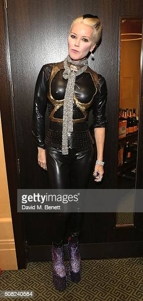 Daphne Guinness attends the SHOWStudio Fashion Film Awards Ceremony at Regent Street Cinema on February 3 2016 in London England