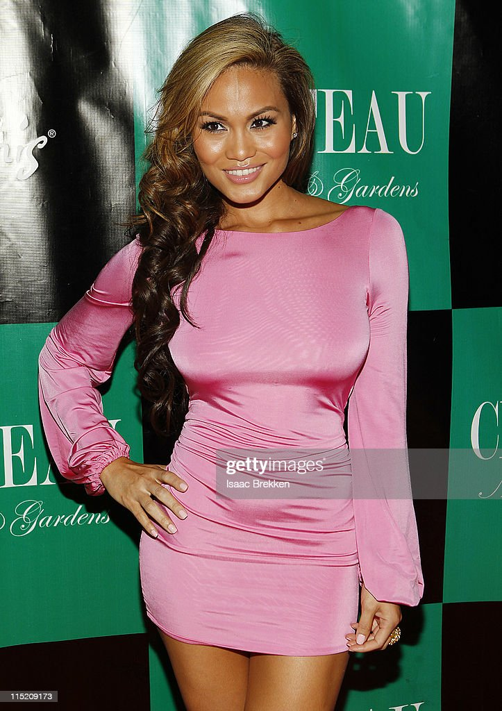 Daphne Joy, a mermaid in 'Pirates Of The Caribbean: On Stranger Tides' arrives at Chateau Nightclub & Gardens on June 3, 2011 in Las Vegas, Nevada.