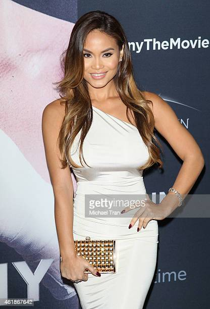 Daphne Joy arrives at the Los Angeles premiere of 'Manny' held at TCL Chinese Theatre on January 20 2015 in Hollywood California