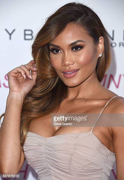 Daphne Joy arrives at the Maybelline New York Beauty Bash at The Line Hotel on June 3 2016 in Los Angeles California