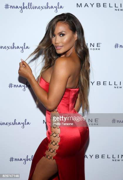 Daphne Joy attends Maybelline New York Celebrates First Ever Cobranded Product Collection With Beauty Influencer Shayla Mitchell at 1OAK on August 10...