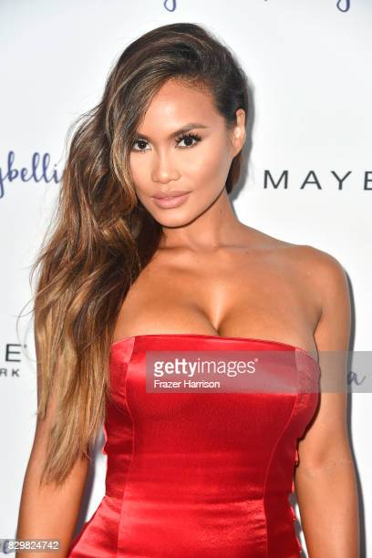 Daphne Joy attends Maybelline's Los Angeles Influencer Launch Event at 1OAK on August 10 2017 in West Hollywood California