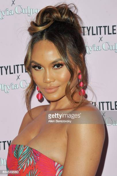 Daphne Joy attends PrettyLittleThing X Olivia Culpo Launch at Liaison Lounge on August 17 2017 in Los Angeles California