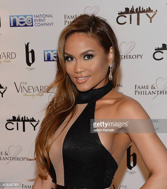 Daphne Joy attends the Fame and Philanthropy PostOscar Party at The Vineyard on March 2 2014 in Beverly Hills California