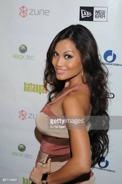 Daphne Joy attends the Pepsi Blue Carpet Bash at The Avalon Ballroom on September 7 2008 in Los Angeles California