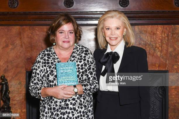 Daphne Merkin and Audrey Gruss attend Audrey Gruss' Hope for Depression Research Foundation Dinner with Author Daphne Merkin at The Metropolitan Club...