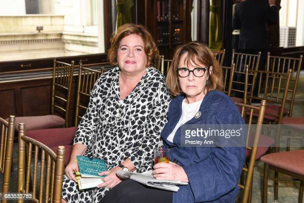 Daphne Merkin and Susan Squire attend Audrey Gruss' Hope for Depression Research Foundation Dinner with Author Daphne Merkin at The Metropolitan Club...
