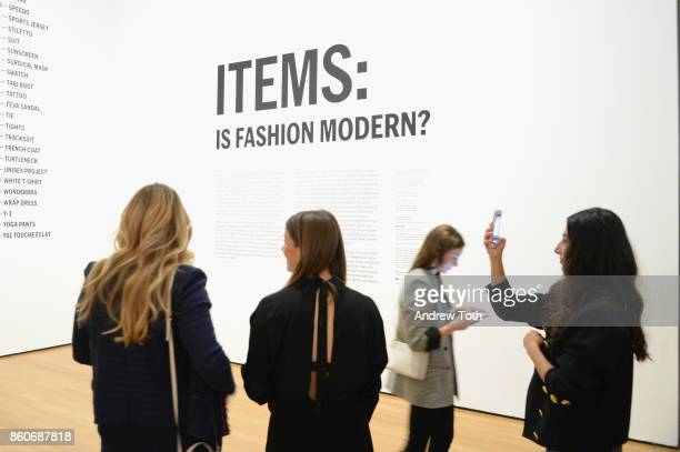 Daphne Oz Amanda Alagem and Nausheen Shah attend as Harper's BAZAAR and THE OUTNETCOM Celebrate the opening of MoMA's Fashion Exhibit 'Is Fashion...