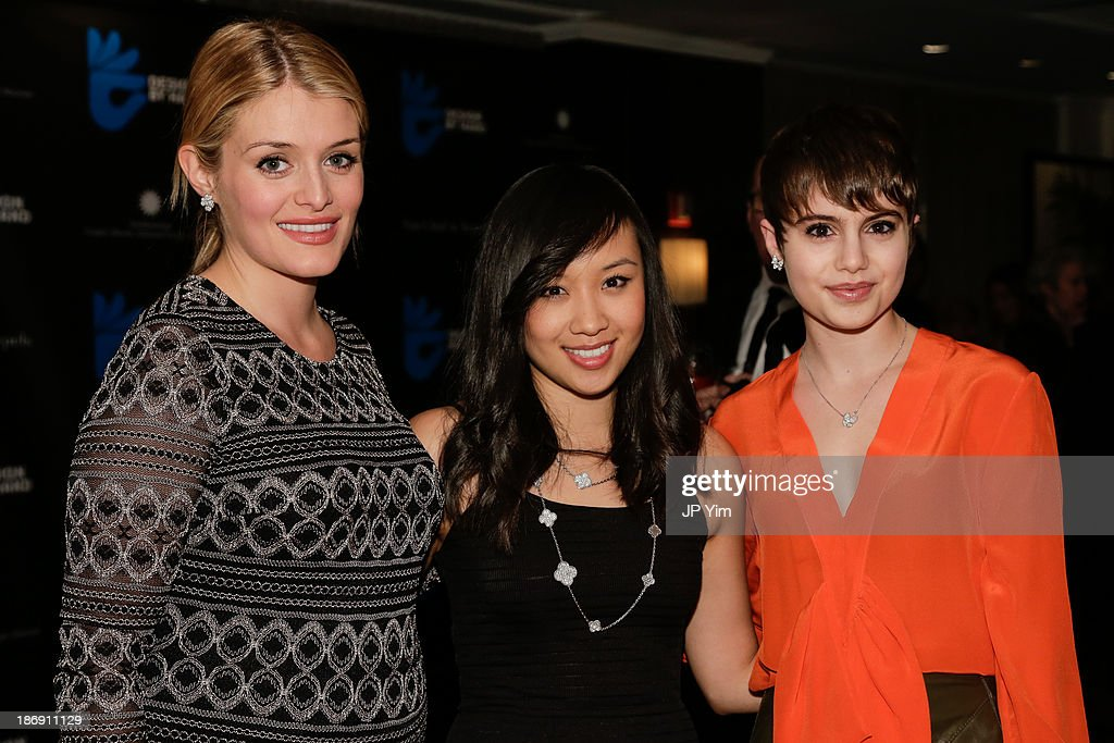 Daphne Oz Ellen Wong and Sami Gayle attend the 'Design By Hand Series' Cocktail Party cohosted by Van Cleef Arpels and CooperHewitt National Design...