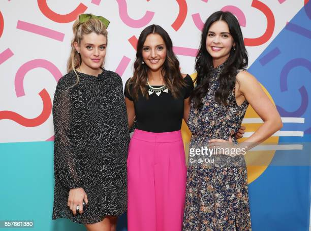 Daphne Oz Founder CEO of Brit Co Brit Morin and Katie Lee attend Brit Co Kicks Off Experiential PopUp #CreateGood with Allison Williams and Daphne Oz...