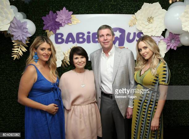Daphne Oz Jan Brandon Dave Brandon CEO of Toy 'R' Us Jenny Mollen attend the Babies 'R' Us Be Preparedish launch event on July 28 2017 in New York...