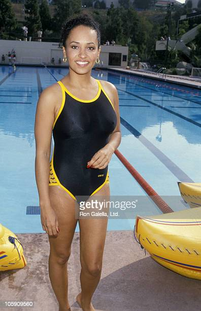 Daphne Reid during Battle of the Network Stars Challenge at Pepperdine University in Malibu California United States