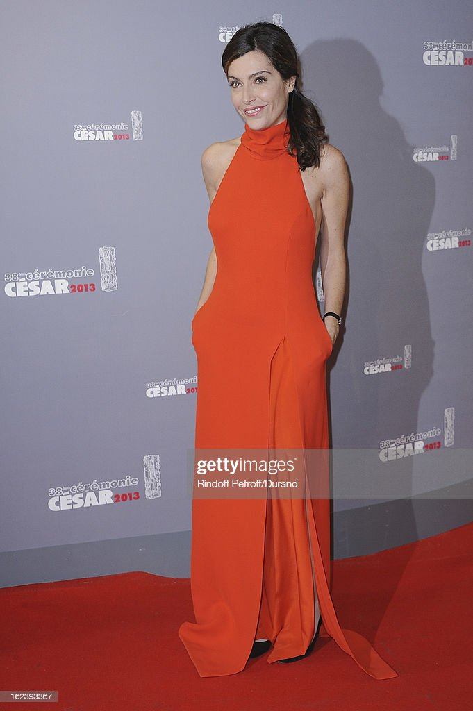 Daphne Roulier arrives at Cesar Film Awards 2013 at Theatre du Chatelet on February 22, 2013 in Paris, France.