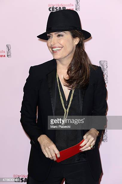 Daphne Roulier arrives for the 39th Cesar Film Awards 2014 at Theatre du Chatelet on February 28 2014 in Paris France