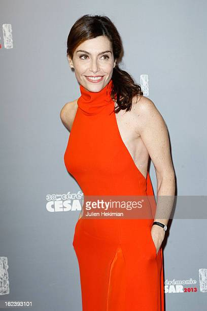 Daphne Roulier attends the Cesar Film Awards 2013 at Theatre du Chatelet on February 22 2013 in Paris France