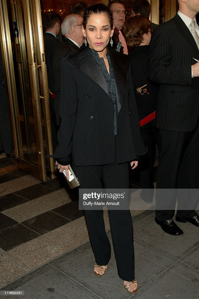Daphne Ruben-Vega during National Theatre's Coram Boy Opening - Arrivals and Curtain Call at Imperial Theatre in New York City, New York, United States.