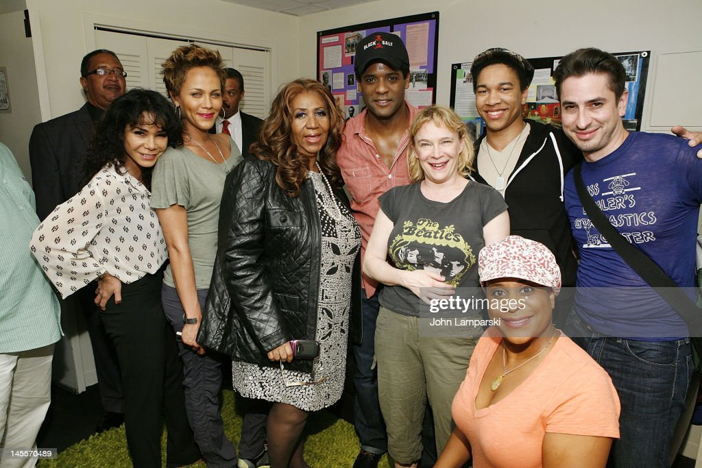 Daphne Rubin Vega, Nicole Ari Parker, Aretha Franklin, Blair Underwood , Amelia Campbell and cast attend 'A Streetcar Named Desire' at The Broadhurst Theatre on June 1, 2012 in New York City.