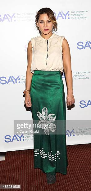 Daphne RubinVega attends the 12th annual SAY Benefit at Jack H Skirball Center for the Performing Arts on April 28 2014 in New York City